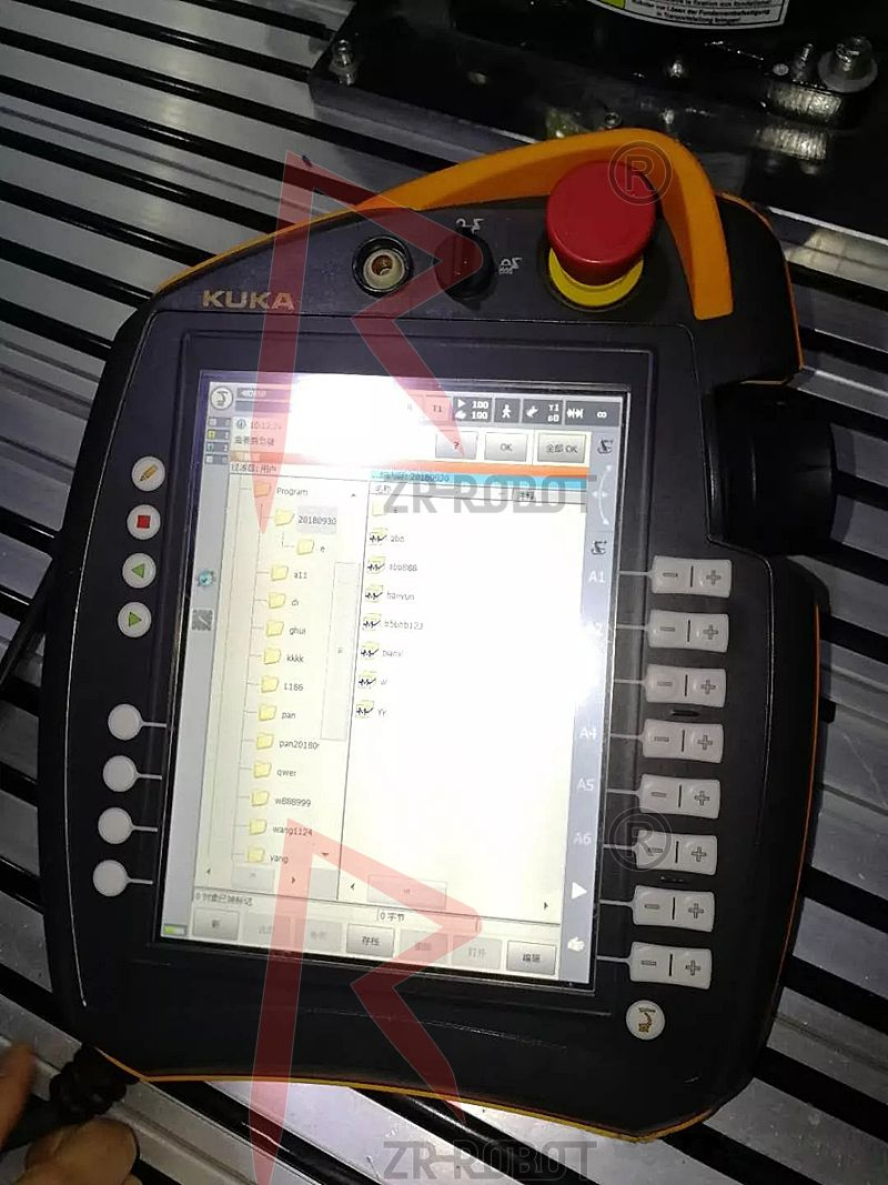 库卡KUKA机器人外部IO选择程序启动配置