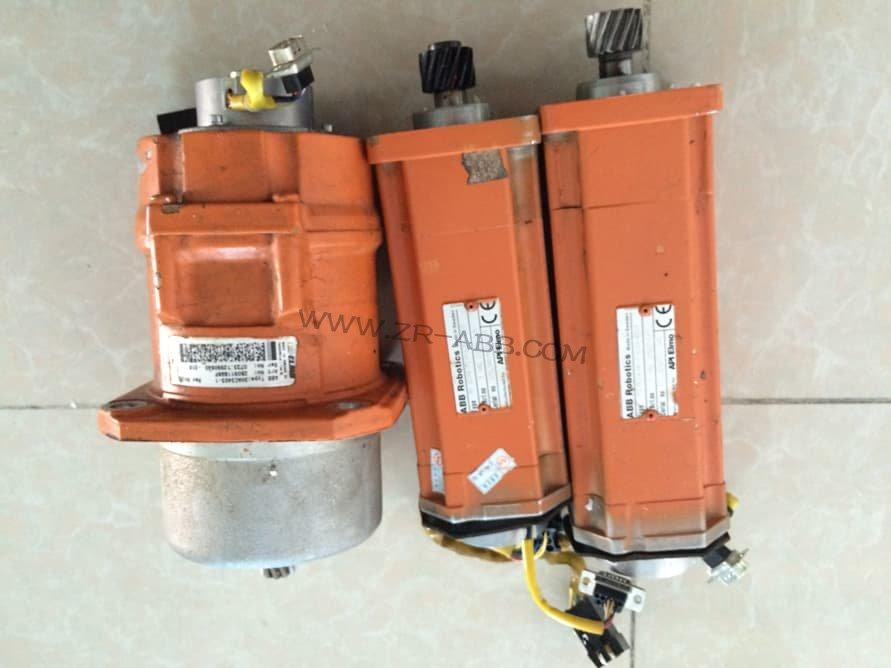 ABB机器人电机电流不平衡维修
